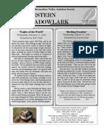 Feb-Mar 2006 Western Meadowlark Newsletter ~ San Bernardino Valley Audubon Society