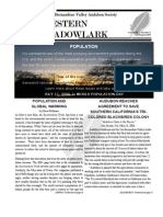 Jul-Aug 2006 Western Meadowlark Newsletter ~ San Bernardino Valley Audubon Society