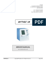 Orphee Mystic 18 Analyzer - Service Manual