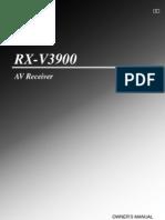 YAMAHA RXV3900IM