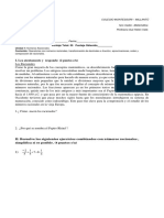 Prueba Matemática_1medio Racionales 2018