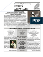 Jan-Feb 2008 Western Meadowlark Newsletter ~ San Bernardino Valley Audubon Society