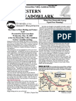 May-Jun 2008 Western Meadowlark Newsletter ~ San Bernardino Valley Audubon Society