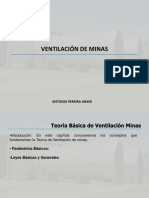 Ventilacion de Minas Propiedades Fisicas y Quimicas Del Aire
