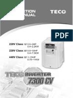 7300cv Teco i̇nverter