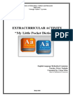 My Little Pocket Dictionary - Extracurricular Activity.docx