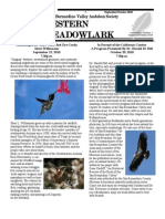 Sep-Oct 2010 Western Meadowlark Newsletter ~ San Bernardino Valley Audubon Society
