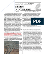 Jul-Aug 2009 Western Meadowlark Newsletter ~ San Bernardino Valley Audubon Society