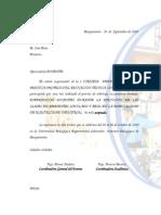 Carta Jose Roy Jose