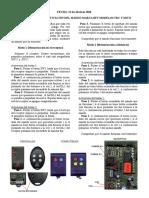 Instrucciones de Activacion MANDO BFT - TRC Y MITO