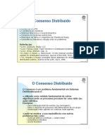 Consenso em Sistemas Distribuídos