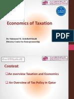 Tax Awarness Sessions