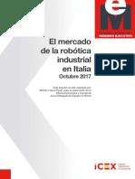 El Mercado de La Robotica Industrial en Italia