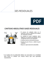 Gases Residuales