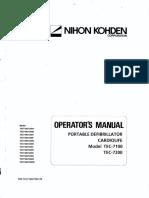 TEC-7100 TEC-7200 Operator Manual