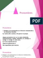 Pronombres  nueva gramática