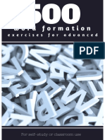 500 Word Formation Exercises for Advanced