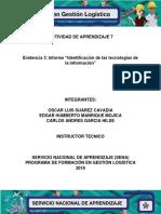 ((Evidencia 5 Manual Procesos y Procedimientos Logisticos