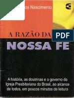 A Razão de Nossa Fé - Adão Carlos Nascimento.pdf