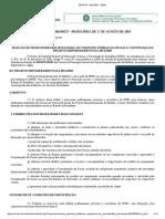 Edital IFRO 12-2018 Seleo de Professores Para o Projeto Empoderamento Da Mulher