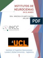 institutos de neurociencia en el mundo