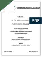 Cuestionario Ser U1 - FSC IV - UT