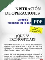 Tema 1 Unidad 2 Pronosticos