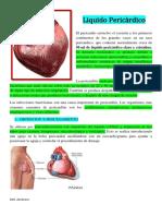 Liquido Pericardico (pericardiocentesis)