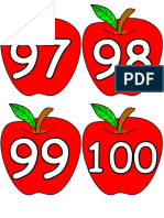 manzanas numeros