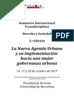Seminario Internacional Derecho & Sociedad II