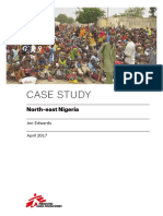 MSF Emergency Gap North East Nigeria Case Study April 2017