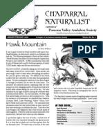 January-February 2006 Chaparral Naturalist - Pomona Valley Audubon Society
