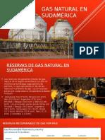 Gas Natural en Sudamérica