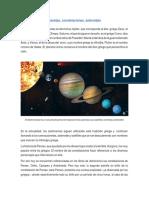 Planetas, constelaciones, asteroides