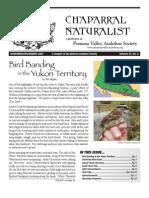 November-December 2007 Chaparral Naturalist - Pomona Valley Audubon Society