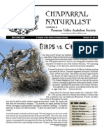 May-June 2008 Chaparral Naturalist - Pomona Valley Audubon Society