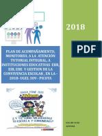 Modelo Del Plan de Acompan Amiento y Monitoreo Modelo