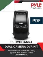 Mercedes Car DashCam PLDVRCAM74