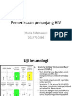 Pemeriksaan Penunjang HIV