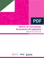 Guia de Orientacion Modulo de Formulacion de Proyectos de Ingenieria Saber Pro 2015
