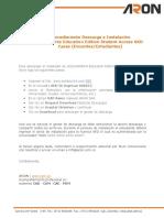 Procedimiento Descarga e Instalacion Licencias SOLIDWORKS Externas SKD (Docentes-Estudiantes)-1.pdf