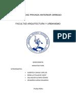 Universidad Privada Anterior Orrego- Monografia