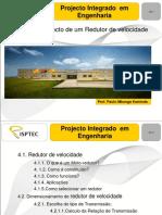 PIE - 4. Projecto de Um Redutor de Velocidade