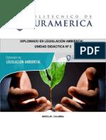 NORMATIVIDAD DE RECURSOS NATURALES COLOMBIA