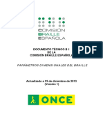 Documento Técnico b1 Parámetros Dimensionales Del Braille v1 - Copy