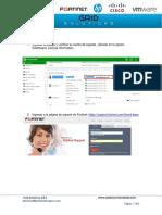 Manual de Renovacion de Licencia Fortigate