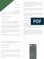 FLOW AVS Remote Manual