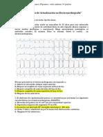 Examen Seminario de Electrocardiograma.