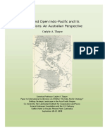 Thayer Free and Open Indo-Pacific and Its Implications