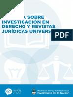 La Investigación En Derecho en Argentina